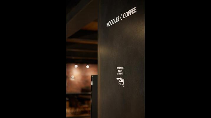 コーヒーカウンターサイン